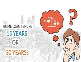 What Option Would Be Ideal For Home Loan Tenure: 15 Years Or 30 Years?