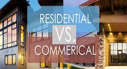 Which is more attractive: Rental income from residential or commercial property?