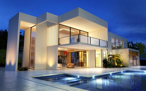 duplex and villa
