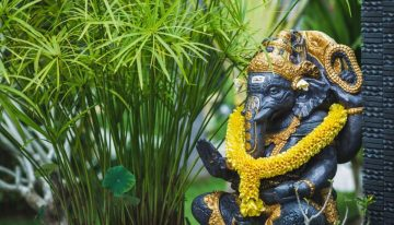 Eco-friendly Ganpati decorations for your home
